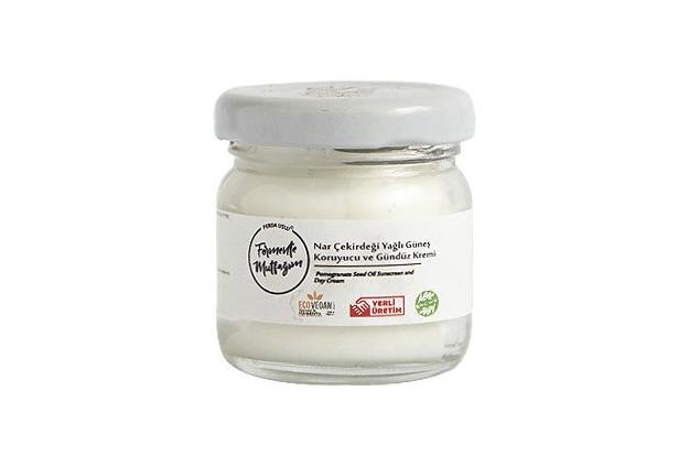 Nar Çekirdeği Yağlı Doğal Güneş Kremi (Fermente Mutfağım, 40ml)
