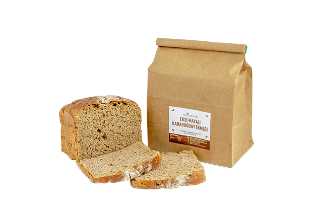 Ekşi Mayalı Karabuğday Ekmeği