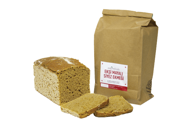 Ekşi Mayalı Siyez Ekmeği (900gr)