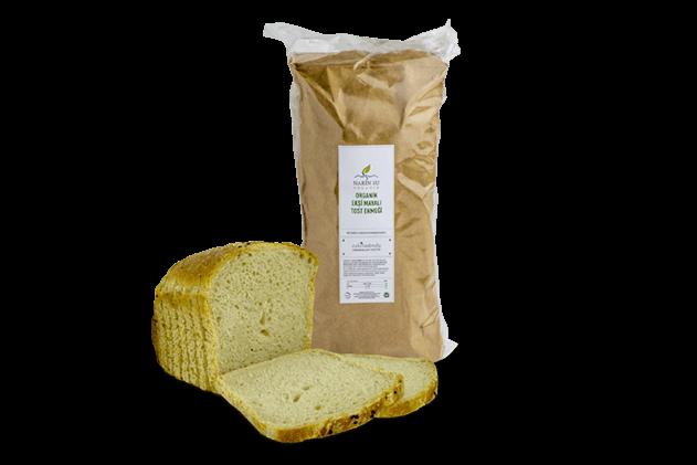 Organik Ekşi Mayalı Tost Ekmeği
