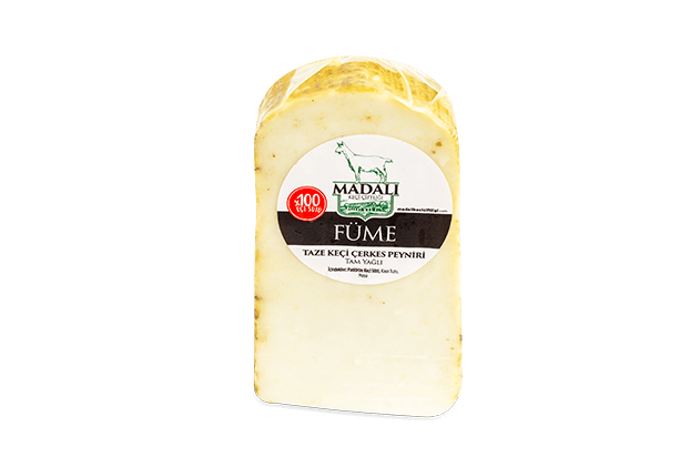 Füme %100 Keçi Çerkes Peyniri-Madalı