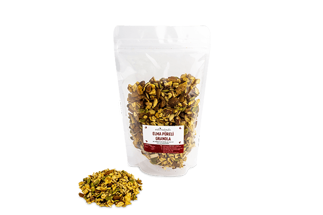 Granola-Elma Püreli