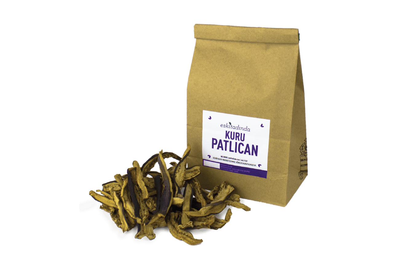 Kuru Patlıcan - Güneş Kurutma (80gr)
