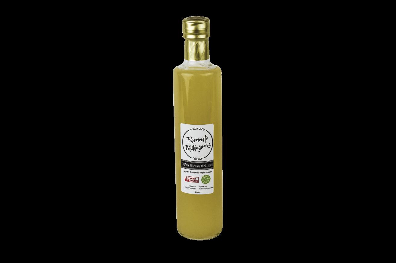 Doğal Fermente Organik Elma Sirkesi - Fermente Mutfağım