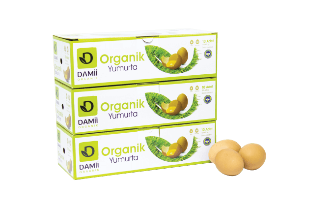 Organik Yumurta (Damii - 30 adet)
