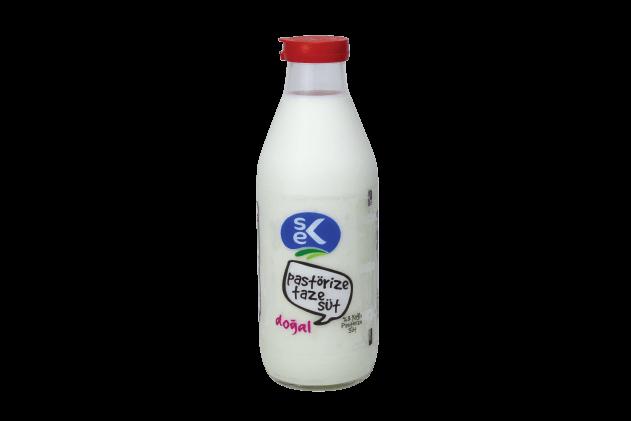 Sek Pastörize Günlük Süt