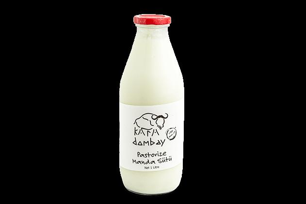 Pastörize Manda Sütü