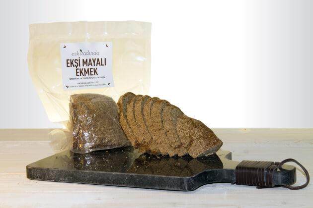 Dilimli Ekşi Mayalı Çeyrek Ekmek (150gr vakumlu paket)