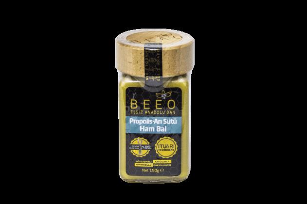 Yetişkin için Propolis Arı Sütü Ham Bal Karışımı-Beeo