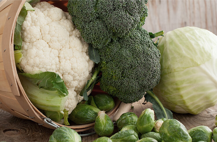 Karın bölgesi yağlanmasına karşı eşsiz sebzeler