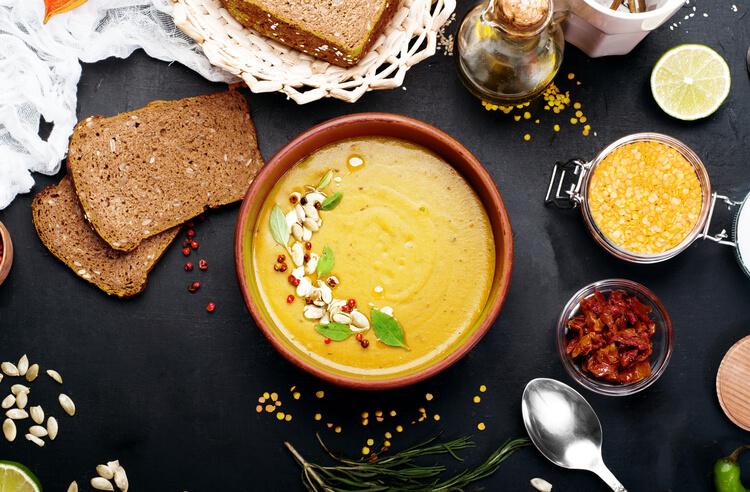Artizan mutfakların tercihi sarı mercimek ile çorba