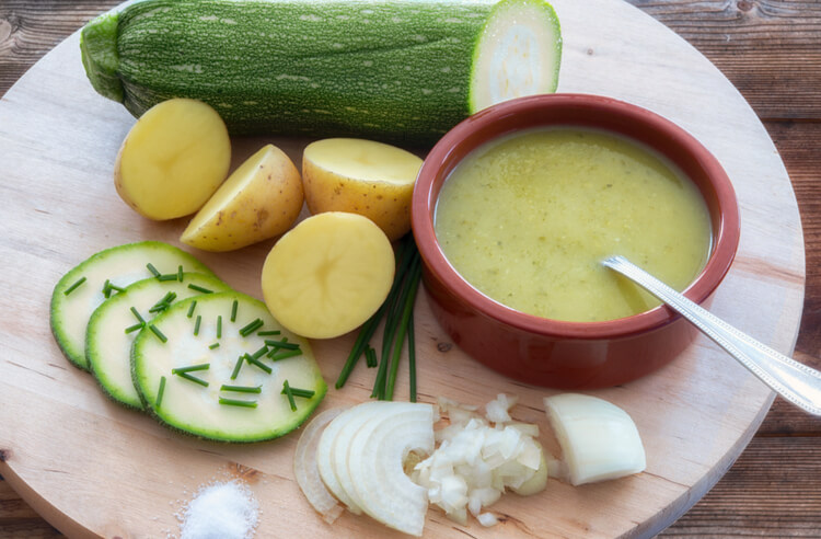 Yeşil kabak çorbası tarifi