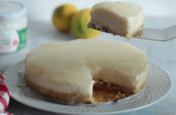 Fırınsız glutensiz limonlu cheesecake tarifi