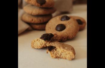 Nohut unlu çikolatalı kurabiye tarifi