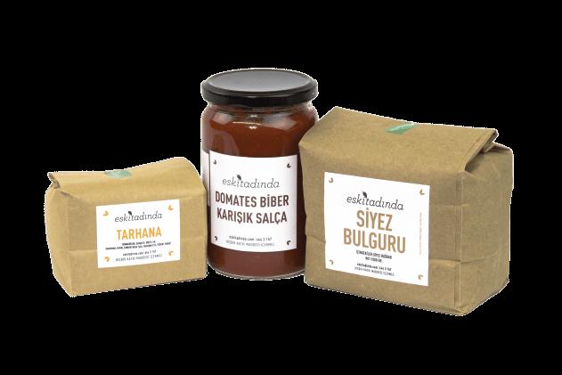 Salça-Tarhana-Bulgur Paketi (3 ürün)