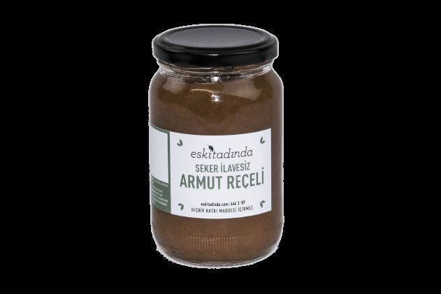 Şekersiz Armut Reçeli (370gr, Şekersiz)