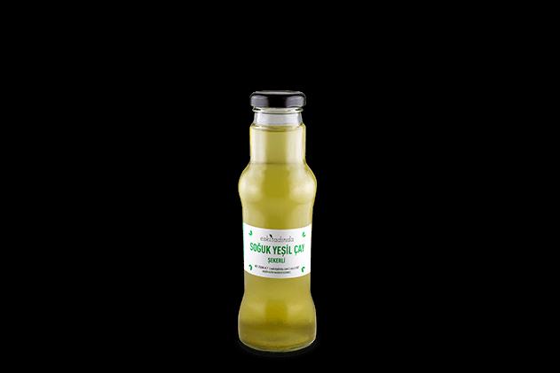 Soğuk Yeşil Çay Şekerli